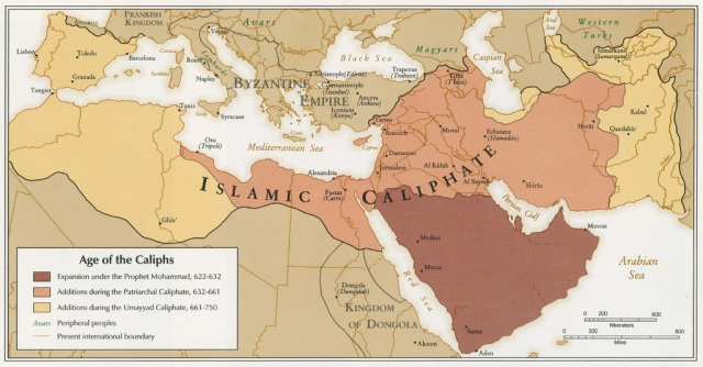 Territories of the Caliphs
