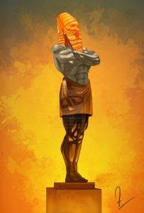 Nebuchadnezzar's statue