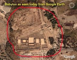 aerial view of Babylon