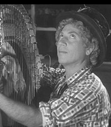 Harpo Marx, I just had to do it.