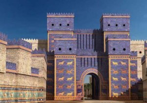 Read more: http://www.ancient-origins.net/ancient-places-asia/magnificent-ishtar-gate-babylon-001866#ixzz3mNsCBziH  Follow us: @ancientorigins on Twitter | ancientoriginsweb on Facebook
