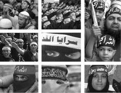 Headband exalting Allah as god, and Muhammad as his messenger.
