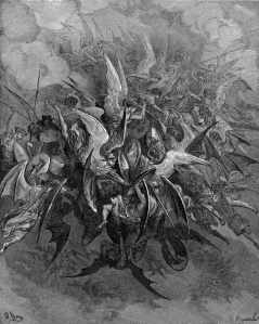 The War in Heaven by Gustave Dore