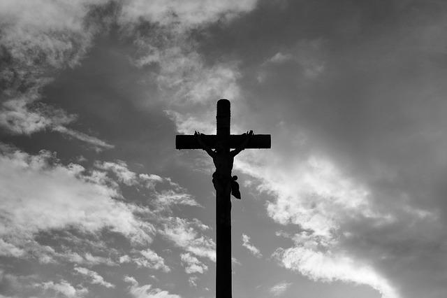 To show Jesus on the cross. www.maxpixel.net-Jesus-Christ-Cross-Photo-Black-White-2733628