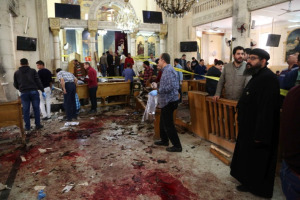 To show that Christians were murdered while attending church in Tanta.