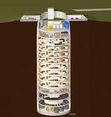 a converted missile silo