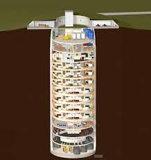a converted missile silo
